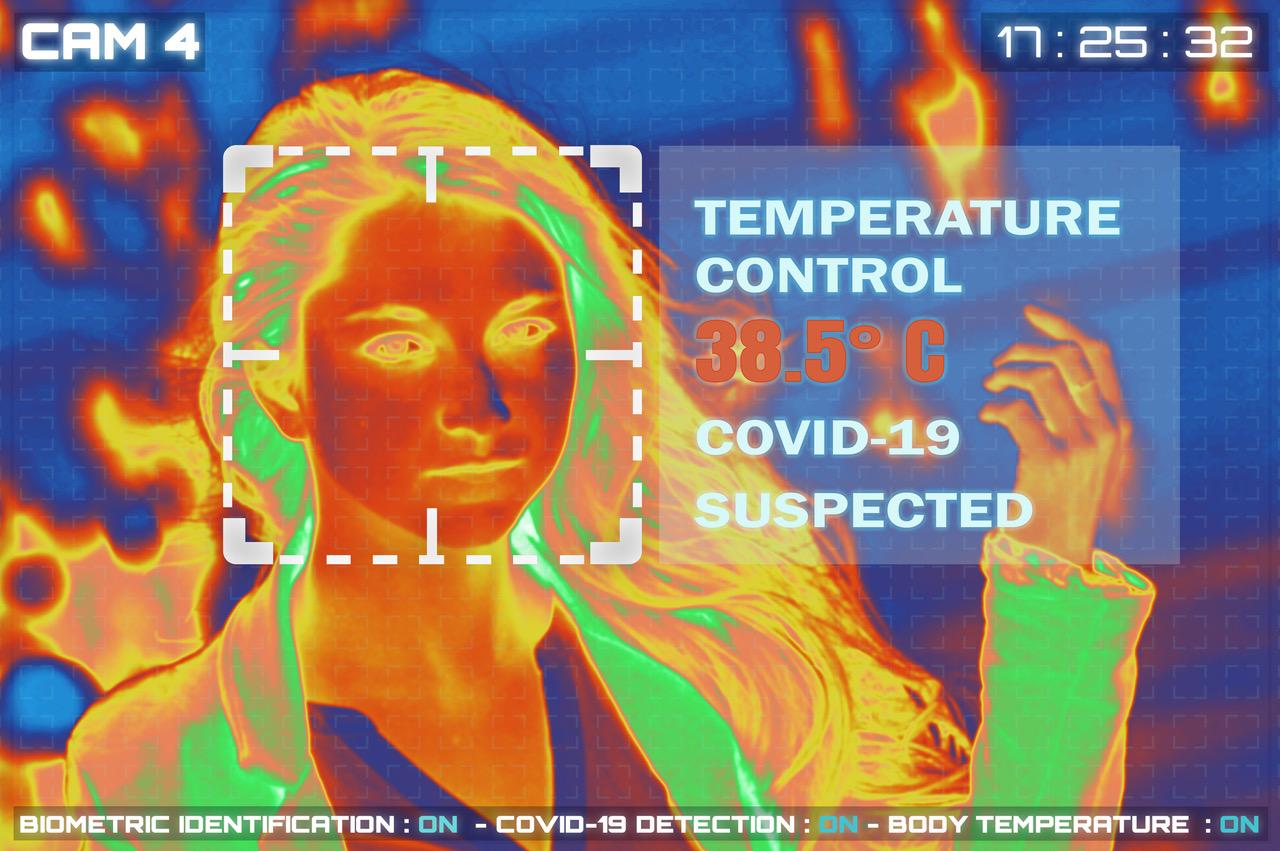 Visione termografica